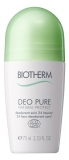 Biotherm Déo Pure Natural Protect Deodorant 24H Schutz Roll-On 75 ml