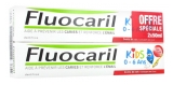 Fluocaril Kids Dentifrice 0-6 ans Lot de 2 x 50 ml
