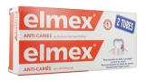Elmex Anticaries Toothpaste 2 x 75ml