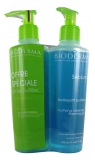 Bioderma Sébium Purifying Cleansing Foaming Gel 2 x 200ml