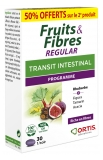 Ortis Fruits & Fibres Regular Intestinal Transit 2 x 30 Tablets