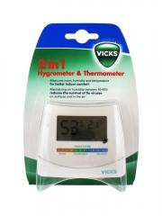 Vicks Hygrometer and Themometer 2 in 1