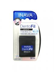 Inava Dentofil Black Fil Dentaire 50 m