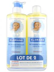 Klorane Baby Gentle Foaming Gel 2 x 500ml