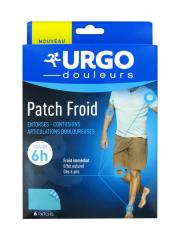 Urgo Patch Froid 6h 6 Patchs