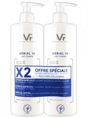 SVR Xérial 10 Lait Corps Lot de 2 x 400 ml