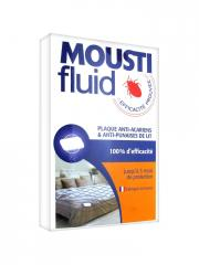 Moustifluid Plaque Anti-Acariens & Anti-Punaises de Lit