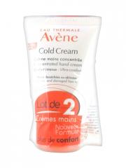 Avène Cold Cream Concentrated Hand Cream 2 x 50ml