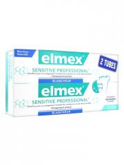 Elmex Sensitive Professional Blancheur Lot de 2 x 75 ml