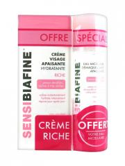 SensiBiafine Rich Soothing Moisturising Face Cream 50ml + Free Micellar Water 125ml