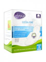 Unyque 10 Serviettes Extrafines - Normal