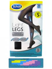 scholl light legs compression tights 20 den black. Black Bedroom Furniture Sets. Home Design Ideas