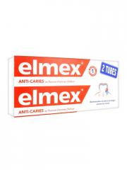 Elmex Dentifrice Protection Caries Lot de 2 x 75 ml