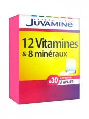 Juvamine 12 Vitamins and 8 Minerals 30 Tablets