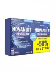 Sanofi Novanuit Triple Action Lot de 2 x 30 Gélules