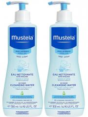 Mustela No-Rinse Cleansing Water 2 x 500ml