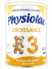 Physiolac Growth 3 From 1 to 3 Years 900g