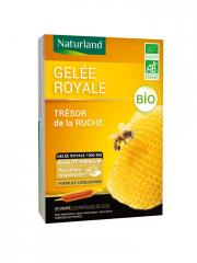 Naturland Organic Royal Jelly 20 Phials of 10ml