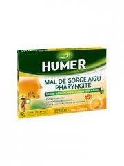 Humer Acute Sore Throat Pharyngitis Sugar-Free 20 Lozenges