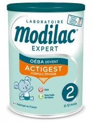 Modilac Expert Actigest 2 From 6 To 12 Months 800g