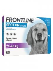 Frontline Spot-On Hund L (20-40 kg) 6 Pipetten