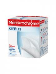 Mercurochrome 30 Cotton Sterile Compresses