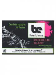 Buvard d'encens White Patchouli Incense Booklet 36 Sheets