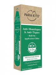 Parakito Anti-Moustiques & Anti-Tiques Roll-On Protection Forte 20 ml