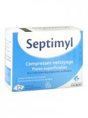 Gilbert Septimyl Compresses Nettoyage 12 Compresses