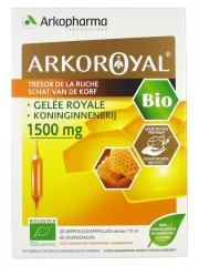 Arkopharma Arko Royal Treasure of the Hive Royal Jelly 1500mg Bio 20 Phials