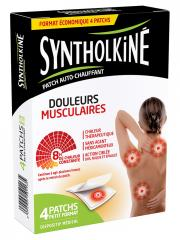 SyntholKiné Back/Neck/Shoulders Heat-Up Patch Muscle Pain 4 Patches