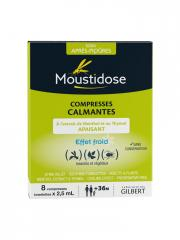 Moustidose Compresses Calmantes 8 Compresses de 2,5 ml