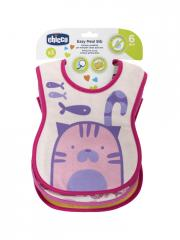 Chicco Set of 3 Bibs 6 Months and +