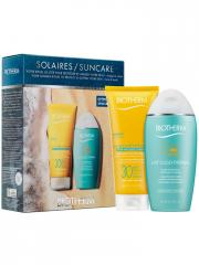 Biotherm Suncare Set Summer Ritual Face & Body Sun Milk SPF 30 200ml + Oligo-Thermal Milk 200ml