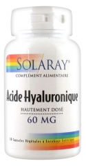 Solaray Highly Dosed Hyaluronic Acid 30 Vegetable Gel-Caps