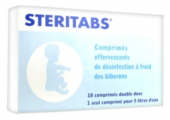 Aquatabs Steritabs 18 Double Dose Tablets