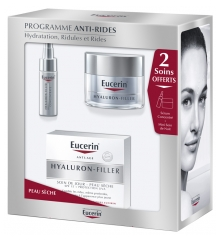 Eucerin Hyaluron-Filler Day Care SPF 15 Dry Skin 50ml + 2 Cares Free