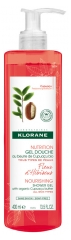 Klorane Nourishing Shower Gel with Organic Cupuaçu Butter with Hibiscus Flower 400ml