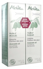 Melvita Huile d'Avocat Bio Lot de 2 x 50 ml