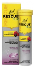Rescue Bach Plus Energie Performance 15 Comprimés Effervescents
