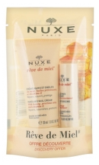 Nuxe Rêve de Miel Discovery Offer Hand and Nail Cream 30ml + Lip Moisturizing Stick 4g