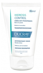 Ducray Hidrosis Control Antiperspirant Cream Hands and Feet 50ml