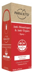 Parakito Anti-Moustiques & Anti-Tiques Spray Extra Fort 75 ml