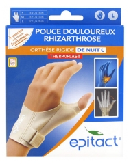 Epitact Night Rigid Orthosis Painful Thumb Right Hand