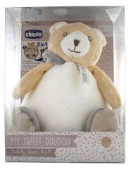 Chicco My Sweet Doudou Teddy Bear Ball Cuddly Toy 0 Month and +