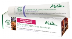 Melvita Dentifrice Gencives Sensibles Lot de 2 x 75 ml