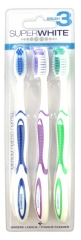 Superwhite Original Brush 3 3 Brosses à Dents Médium