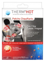 TheraPearl ThermHot 2 Patchs Chauffants Cou/Dos/Épaule/Poignet