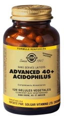 Solgar Advanced 40+ Acidophilus 120 Vegetable Capsules