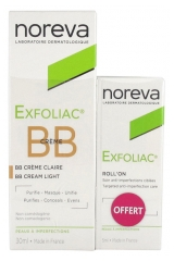 Noreva Exfoliac BB Crème 30 ml + Roll-On Soin Anti-Imperfections 5 ml Offert